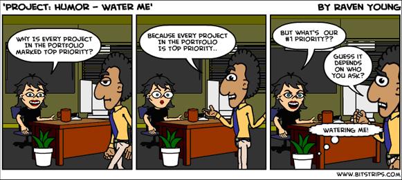Project Management Comic